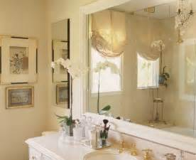 master bath with crema marfil marble and mirrored silk