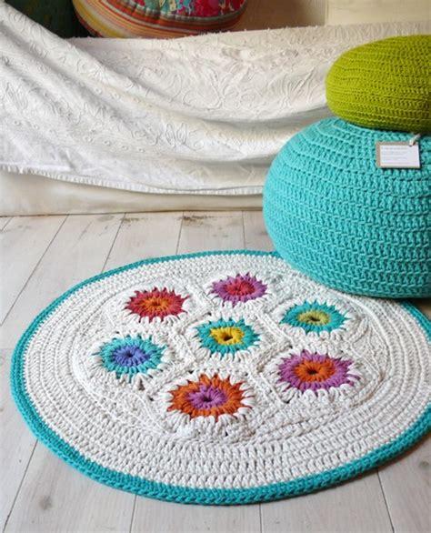 hexagon crochet rug pattern rug crochet hexagon