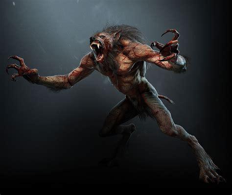 wild hunt witcher 3 werewolf werewolf characters art the witcher 3 wild hunt