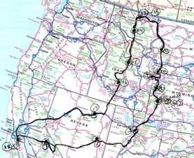 map of nevada california map of california nevada and utah