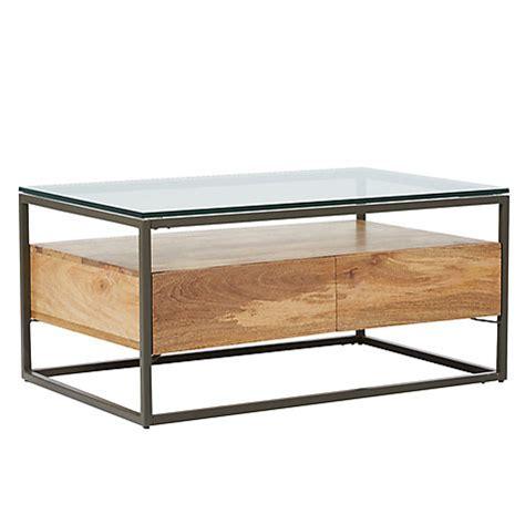 West Elm Box Frame Coffee Table Buy West Elm Industrial Storage Box Frame Coffee Table Lewis
