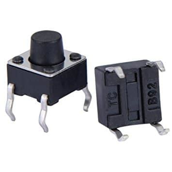 Tactile Button 43mm Push On tactile push button switch geeksvalley