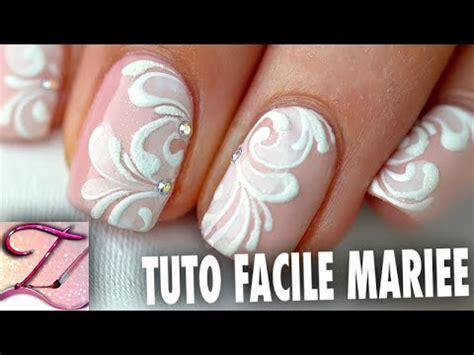 nail fiori facili tuto nail facile id 233 e mariage sur ongles courts en