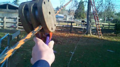 how to make a zip line for your backyard how to make a zip line youtube