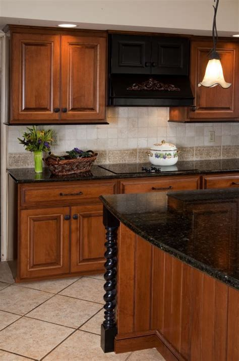 """Refaced Kitchen Cabinets: Victorian Antique """"Honey"""" finish"""