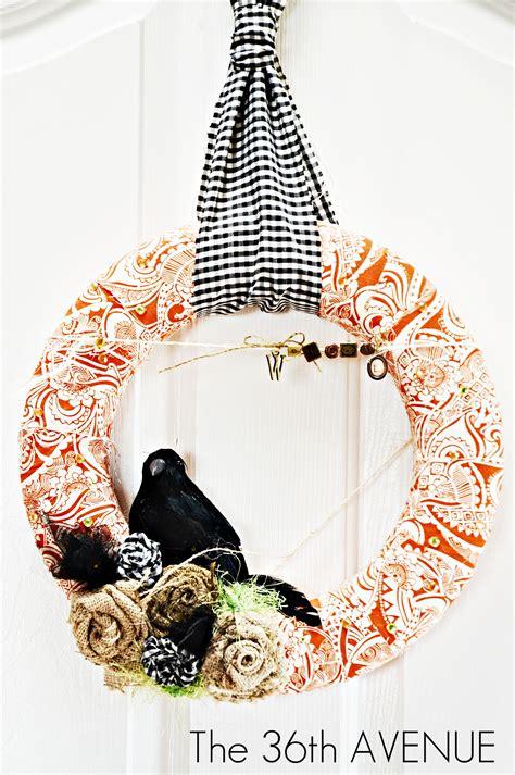 easy wreaths to make fabric wreath tutorial the 36th avenue