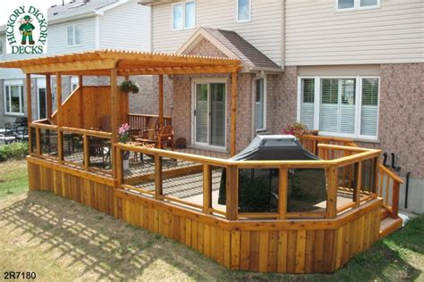pergola plans for decks pergola deck plans furnitureplans