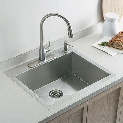 the counter kitchen sinks selecting the ideal kitchen sink at the home depot