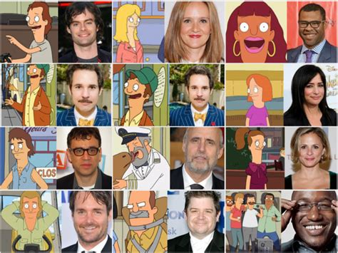 actor comedy voice behind the burger the brilliant comedy voices behind tv s