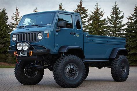 jeep prototype truck jeep forward truck prototype approved
