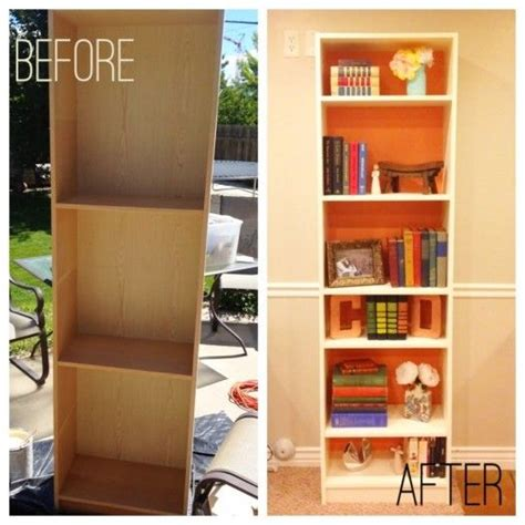 17 best ideas about bookshelf makeover diy on