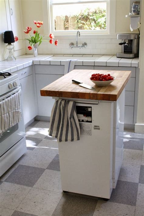 mobile island kitchen 2018 5 inexpensive ways to make your small kitchen more functional