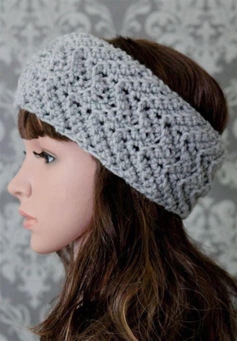 Zig Zag Crochet Headband Pattern | elegant zig zag headband crochet pattern allfreecrochet com