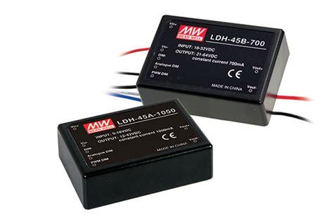 Power Supply Well Led Driver Ldh 45 350 1050da ldh series agec eg
