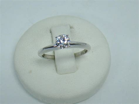 teenager 14 finds 7 44 carat diamond in an arkansas state park the new 14k white gold solitaire 44 carat round diamond ags