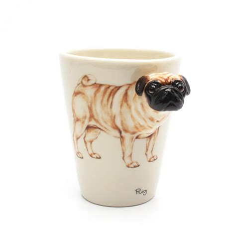 pug mug muddymood mugs pug lover mug 00001