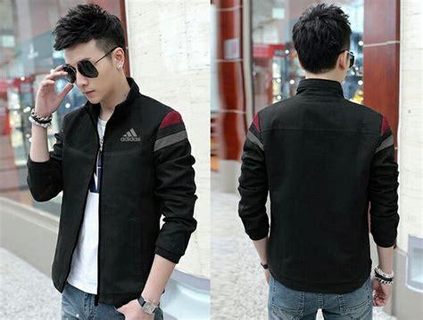 Pakaian Pria Jaket Adidas Hitam jual jaket adidas d cl pakaian pria jaket warna hitam