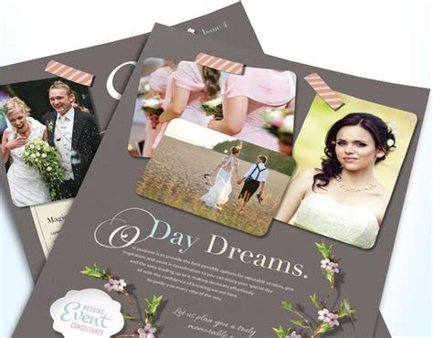 Wedding Consultant Brochure by Make Memorable Brochures Flyers Newsletters Ads And