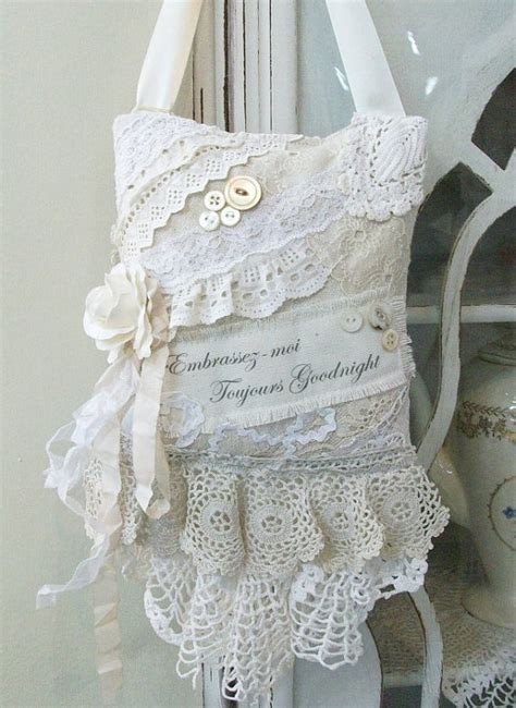 shabby lace table cloth 150 150 157 best craft sachets images on embroidery