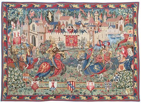 Tapisserie Moyen Age by Tapisserie Le Tournoi Des Camelots