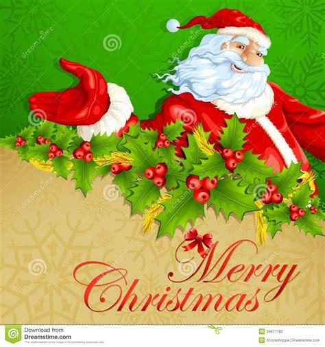 santa claus merry 8 santa claus in merry stock vector image 34677782