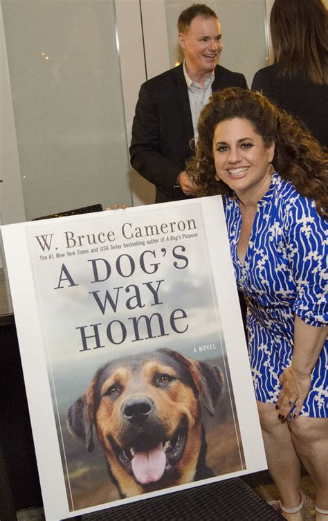 508763 a dog s way home photo flash w bruce cameron celebrates the release of a