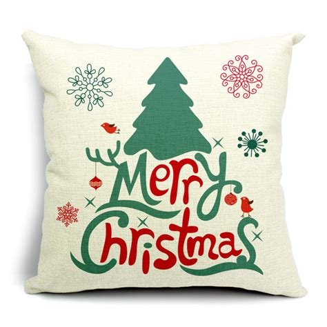 2015 christmas cushions high quality signature cotton home
