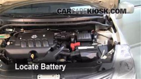 2007 nissan versa battery air filter how to 2007 2012 nissan versa 2008 nissan