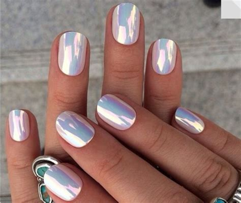Holographic Foil Nail
