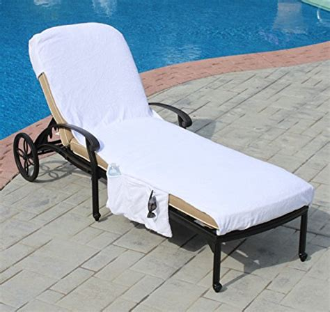 lounge chair covers with pockets lounge chair cover luxury turkish cotton side pocket