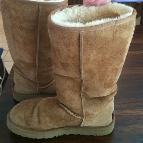 camel colored boots 75 ugg shoes ugg camel colored boots size w8