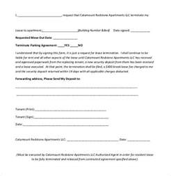 Sle Letter Ending Lease Agreement Cancel A Lease Agreement Letter Letter Idea 2018
