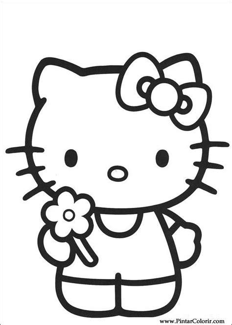 ritningar att mala faerg  kitty print design