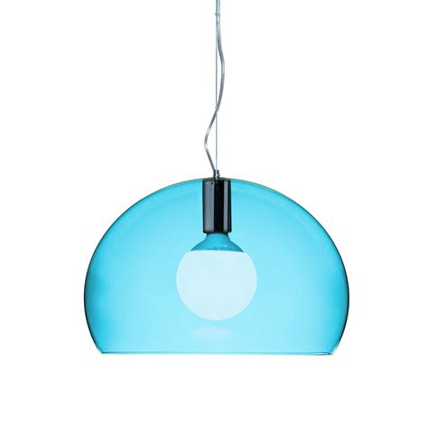 buy kartell mini fl y ceiling light petrol blue amara