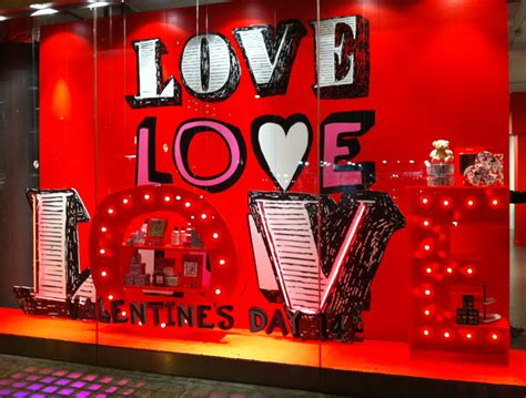 valentines day window how to rock your s day window display 4over4