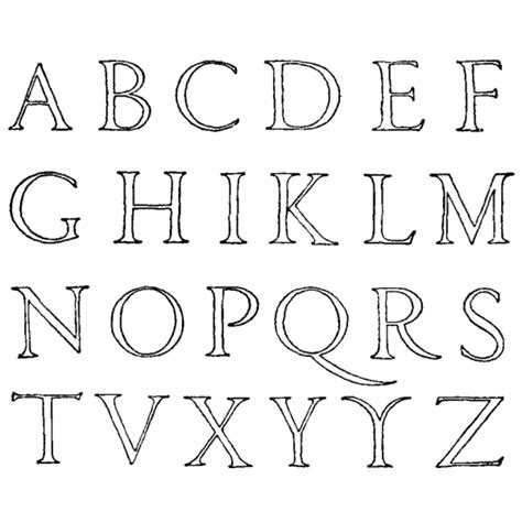 lettere dell alfabeto da colorare e ritagliare disegno di lettere alfabeto da colorare per bambini