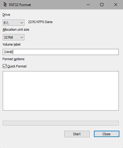 format pendrive z fat32 na ntfs jak sformatować dysk lub pendrive większy niż 32gb na