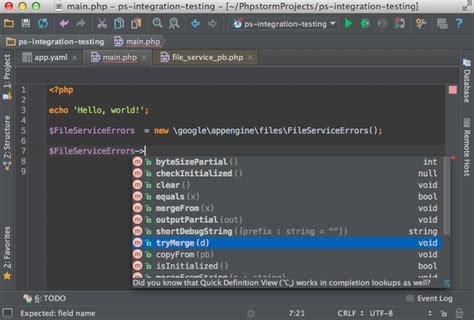 Getting Started With Phpstorm As Google App Engine Php Ide | getting started with phpstorm as google app engine php ide