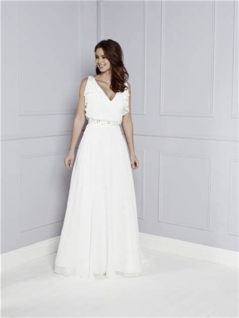 30708 White Informal V Neck Dress Dress Casual Mini Putih informal a line v neck white chiffon ruffle casual