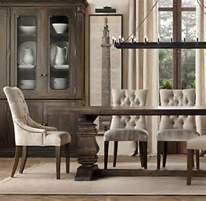 Restoration Hardware Dining Room Chairs Martine Upholstered Dining Chair Set Of 2 Arm And 4 Side