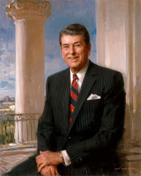 president s portraits ronald reagan mowryjournal com