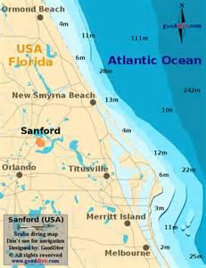 sanford map gooddive