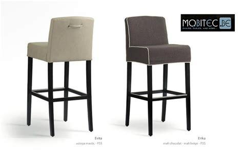 chaise de cuisine haute chaise haute bar bois cuisine en image
