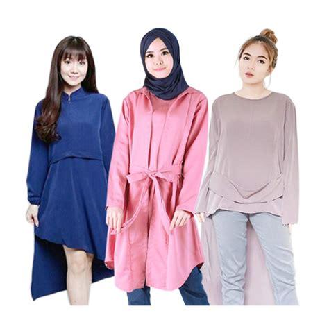 New Tunik new update tunik etnik bigsize tunik hijabers