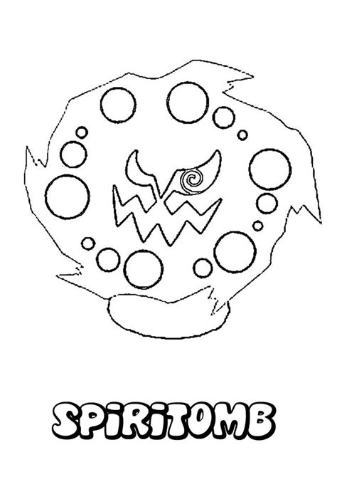 ghost pokemon coloring pages spiritomb coloring pages hellokids com