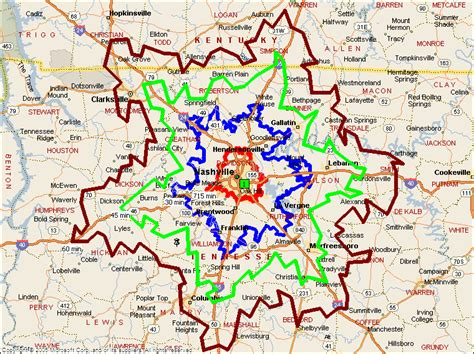 map of nashville drive times from nashville map ashton real estate