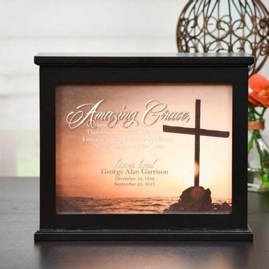 Amazing Grace Memorial Light Box