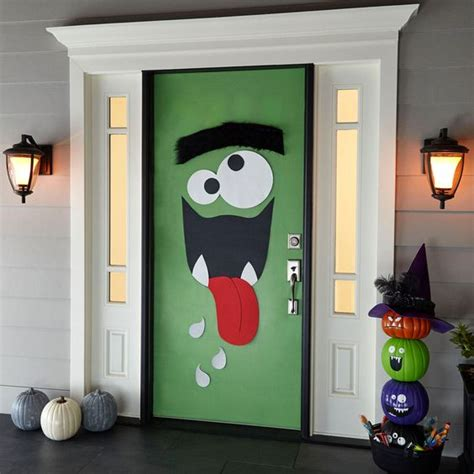 Jack Skellington Home Decor by 25 Halloween Front Door D 233 Corations That You Ll Love