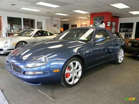 blue book value used cars 2003 maserati spyder seat position control 2003 blu sebring metallic blue maserati spyder cambiocorsa 48925276 gtcarlot com car