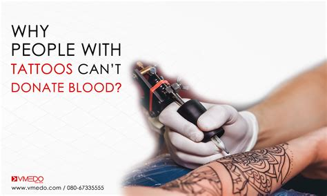 can you donate blood if you have tattoos how after a can you give blood best 2017